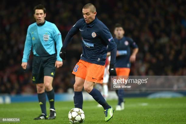 Anthony MOUNIER Arsenal / Montpellier Ligue des Champions Photo Dave Winter / Icon Sport