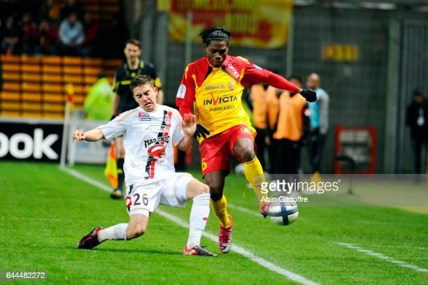 Anthony MOUNIER / Henri BEDIMO Lens / Nice 10e journee Ligue 1 Photo Alain Gadoffre / Team Pics / Icon Sport