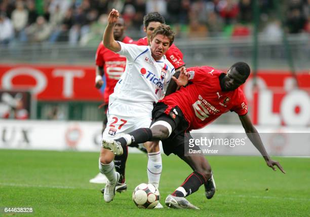 Anthony MOUNIER / Kader MANGANE Rennes / Lyon 8e journee Ligue 1 Photo Dave Winter / Icon Sport