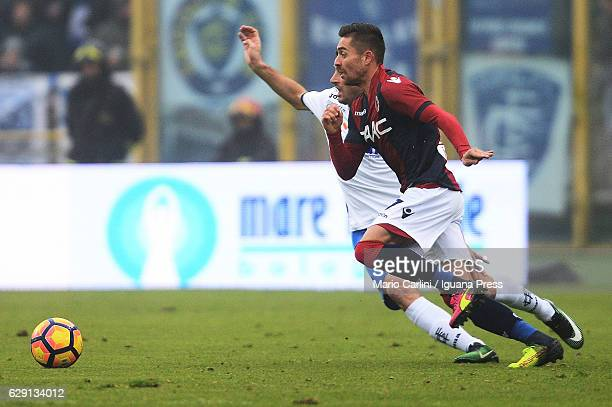 Anthony Mounier of Bologna FC in action during the Serie A match between Bologna FC and Empoli FC at Stadio Renato Dall'Ara on December 11 2016 in...