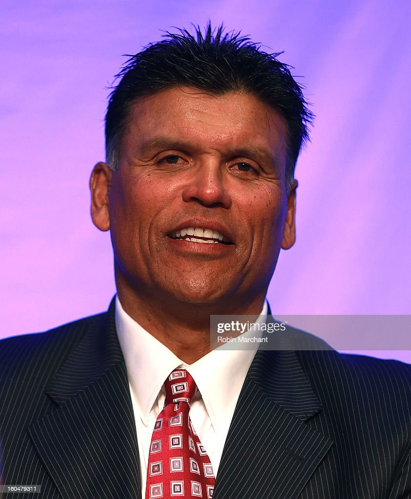 Anthony Munoz attends the 2013 Super Bowl Breakfast at the Hyatt Regency New Orleans on February 1, 2013 in New Orleans, Louisiana.