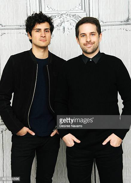 Anthony Padilla and Ian Hecox attend Build Presents 'Ghostmates' at AOL HQ on December 1 2016 in New York City