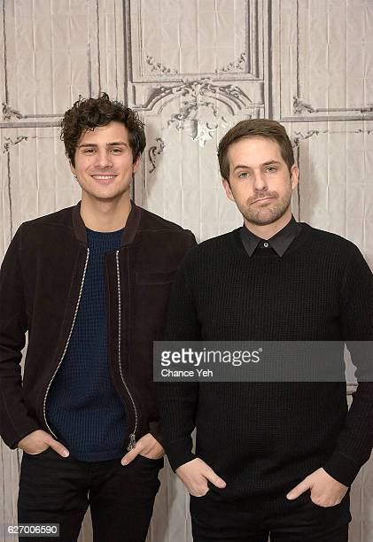 Anthony Padilla and Ian Hecox attend The Build Series to discuss 'Ghostmates' at AOL HQ on December 1 2016 in New York City