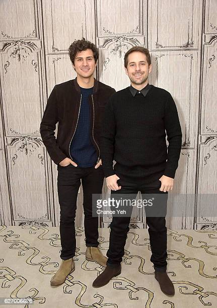 Anthony Padilla ÊandÊIan Hecox attend The Build Series to discuss 'Ghostmates' at AOL HQ on December 1 2016 in New York City