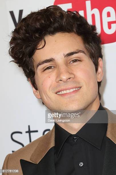 Anthony Padilla arrives at the 2016 Streamy Awards at The Beverly Hilton Hotel on October 4 2016 in Beverly Hills California
