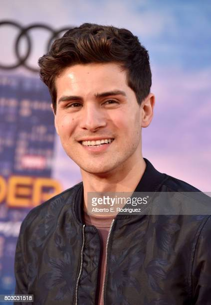 Anthony Padilla attends the premiere of Columbia Pictures' 'SpiderMan Homecoming' at TCL Chinese Theatre on June 28 2017 in Hollywood California