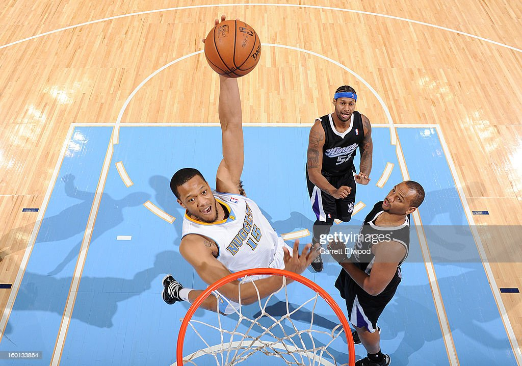 <a gi-track='captionPersonalityLinkClicked' href=/galleries/search?phrase=Anthony+Randolph+-+Basketball+Player&family=editorial&specificpeople=4679330 ng-click='$event.stopPropagation()'>Anthony Randolph</a> #15 of the Denver Nuggets dunks the ball during the game between the Sacramento Kings and the Denver Nuggets on January 26, 2013 at the Pepsi Center in Denver, Colorado.