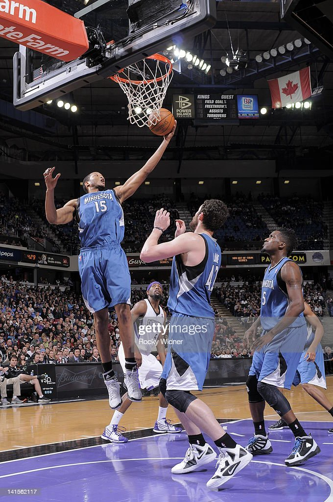 <a gi-track='captionPersonalityLinkClicked' href=/galleries/search?phrase=Anthony+Randolph&family=editorial&specificpeople=4679330 ng-click='$event.stopPropagation()'>Anthony Randolph</a> #15 of the Minnesota Timberwolves rebounds the ball against the Sacramento Kings on March 18, 2012 at Power Balance Pavilion in Sacramento, California.
