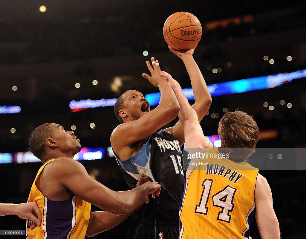Minnesota Timberwolves v Los Angeles Lakers s and