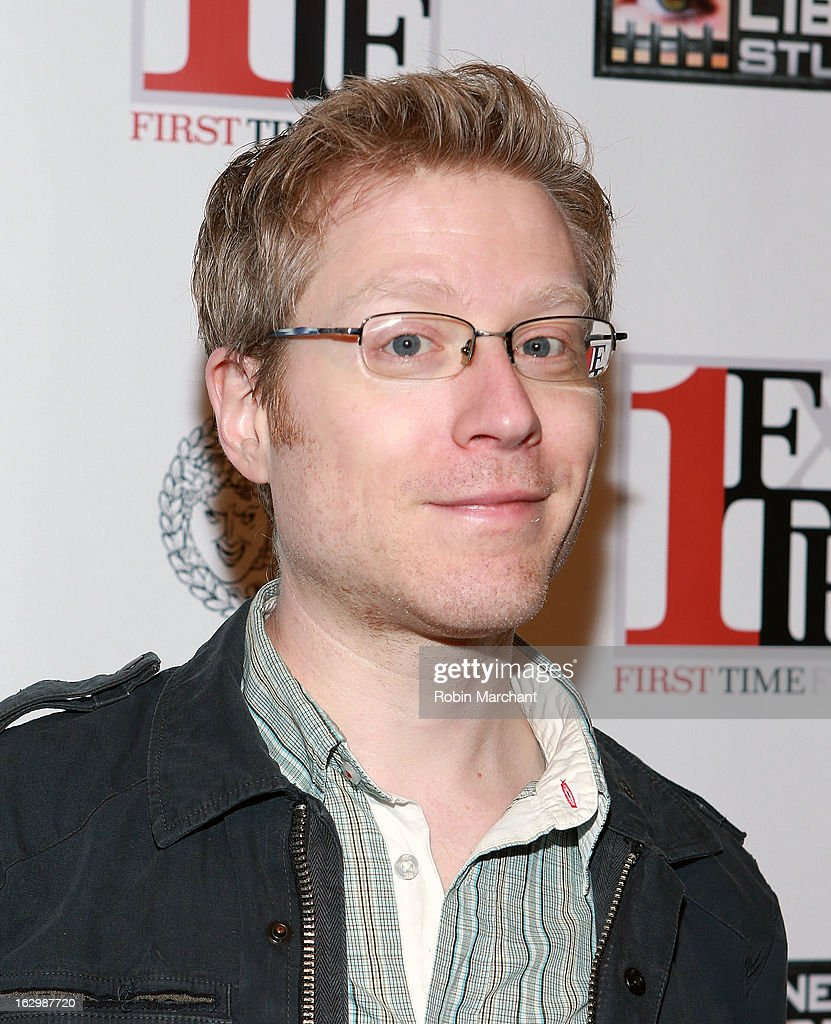 <a gi-track='captionPersonalityLinkClicked' href=/galleries/search?phrase=Anthony+Rapp&family=editorial&specificpeople=584008 ng-click='$event.stopPropagation()'>Anthony Rapp</a> attends 'Junction' during the 2013 First Time Fest at AMC Loews Village 7 on March 2, 2013 in New York City.