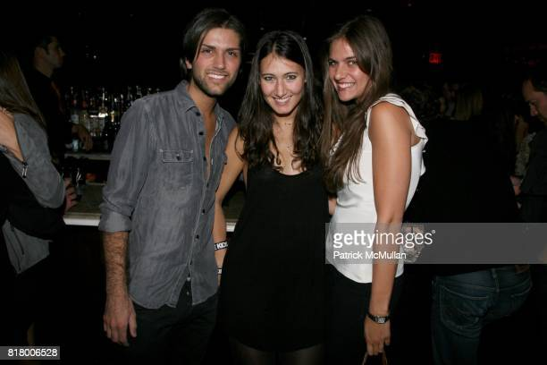 Anthony Reda SJ Shayne and Sarah Mancin attend QUEST MAGAZINE What2WearWherecom hosts a soft launch of LAVO at 38 E 58th St on September 9 2010 in...