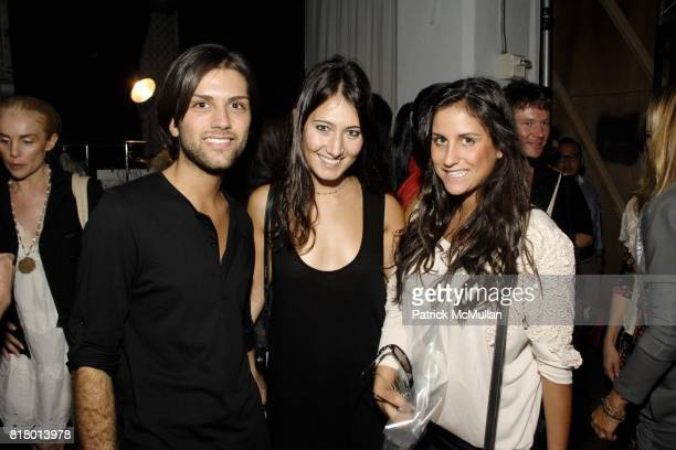 Anthony Reda Stephanie Shayne and attend PARKCHOONMOO Spring/Summer 2011 Fashion Show at Exit Art on September 9 2010 in New York City