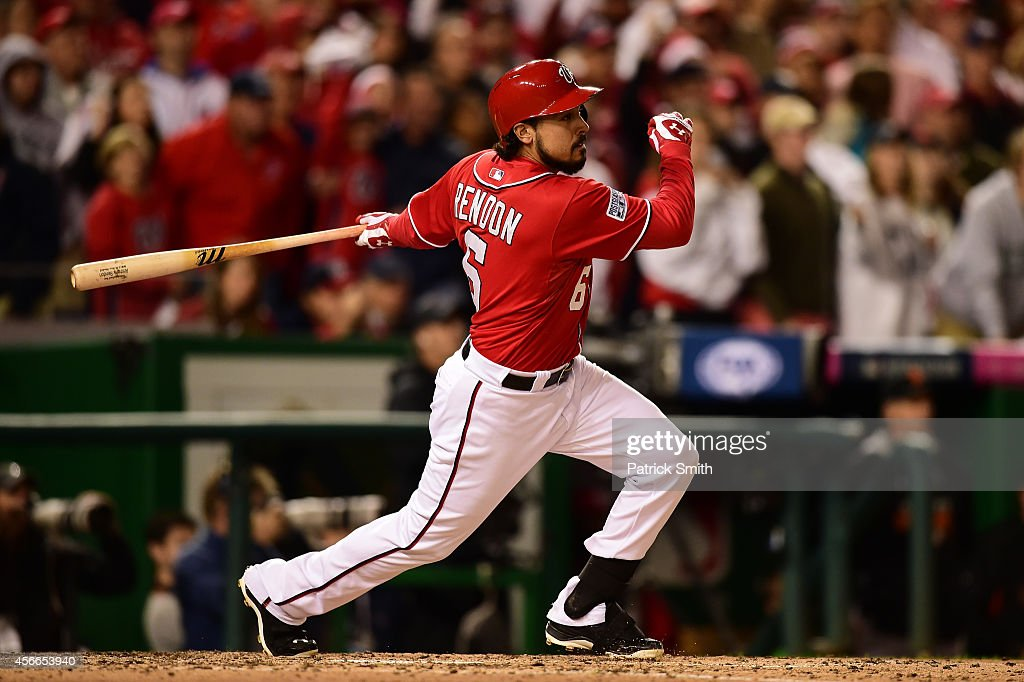 Division Series - San Francisco Giants v Washington Nationals - Game Two