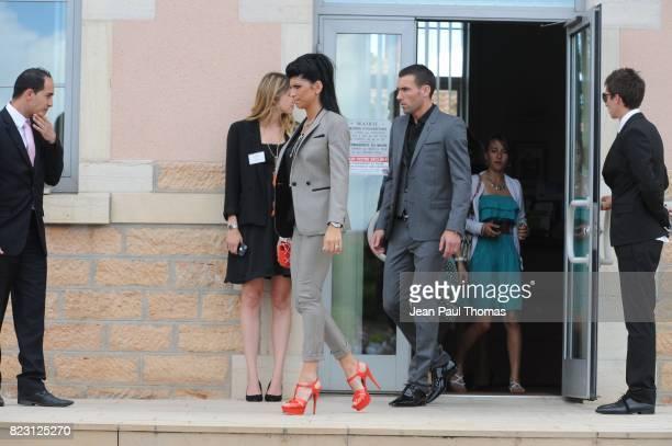 Anthony Reveillere au Mariage de Sidney Govou Mairie de Replonge