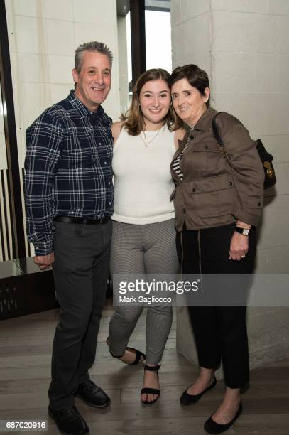 Anthony Rizzo Stephanie Rizzo and Colleen Rizzo attend Gotham Magazine's Celebration of it's Late Spring Issue with Noah Syndergaard at 1 Hotel...