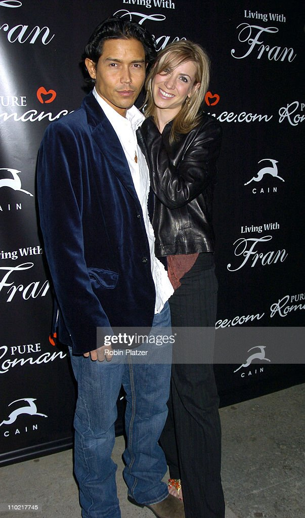 Anthony Ruivivar and wife Yvonne Jung during 'Living with Fran' Premiere Party Sponsored by PureRomance.com at Cain Lounge in New York City, New York, United States.