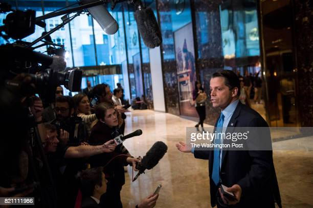 Anthony Scaramucci a member of Presidentelect Donald Trump's transition team executive committee and founder and CoManaging Partner of investment...