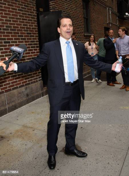 Anthony Scaramucci is seen on August 14 2017 in New York City
