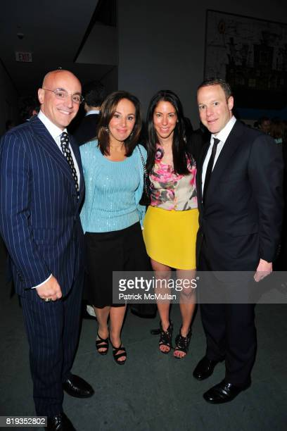 Anthony Scotto Rosanna Scotto Roxanne Palin and Dean Palin attend JONATHAN TISCH 'Citizen You' Book Launch Party at The Museum of Modern Art on May 6...