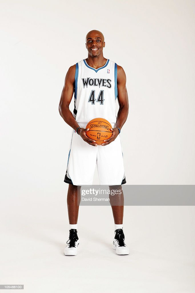 <a gi-track='captionPersonalityLinkClicked' href=/galleries/search?phrase=Anthony+Tolliver&family=editorial&specificpeople=4195496 ng-click='$event.stopPropagation()'>Anthony Tolliver</a> #44 of the Minnesota Timberwolves poses for a portrait during 2010 NBA Media Day on September 24, 2010 at Lifetime Fitness Training Center in the Target Center in Minneapolis, Minnesota.