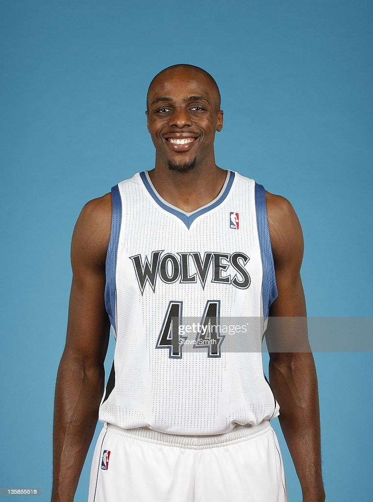 <a gi-track='captionPersonalityLinkClicked' href=/galleries/search?phrase=Anthony+Tolliver&family=editorial&specificpeople=4195496 ng-click='$event.stopPropagation()'>Anthony Tolliver</a> #44 of the Minnesota Timberwolves poses for a portrait during 2011 NBA Media Day on December 9, 2011 at Target Center in Minneapolis, Minnesota.