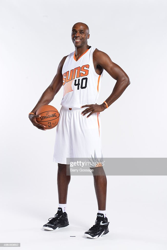 Anthony Tolliver of the Phoenix Suns poses for a photo during Media Day on September 29 2014 at US Airways Center in Phoenix Arizona NOTE TO USER...