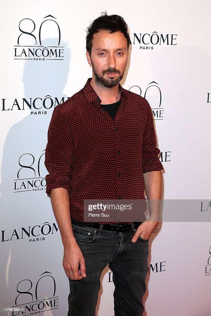 Anthony Vaccarello attends the Lancome 80th Anniversary Party as part of Paris Fashion Week Haute Couture Fall/Winter 2015/2016 on July 7, 2015 in Paris, France.