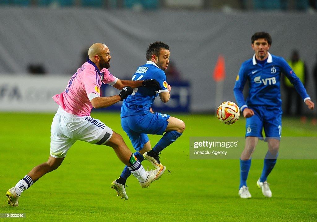 FC Dynamo Moscow v Anderlecht - UEFA Europe League