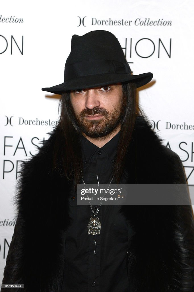 Anthony Veron attends the 2013 Launch of the Dorchester Collection Fashion Prize 2013 at Hotel Plaza Athenee on May 3, 2013 in Paris, France.