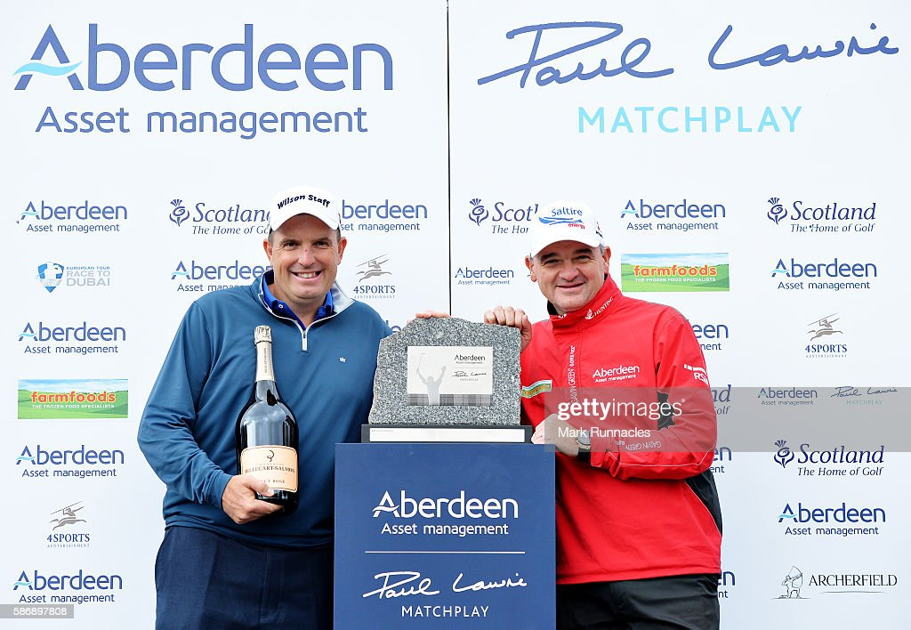 Aberdeen Asset Management Paul Lawrie Matchplay - Day Four