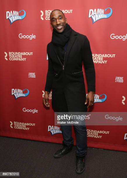 Anthony Wayne attend the cast party for the Roundabout Theatre Company presents a OneNight Benefit Concert Reading of 'Damn Yankees' at the Stephen...