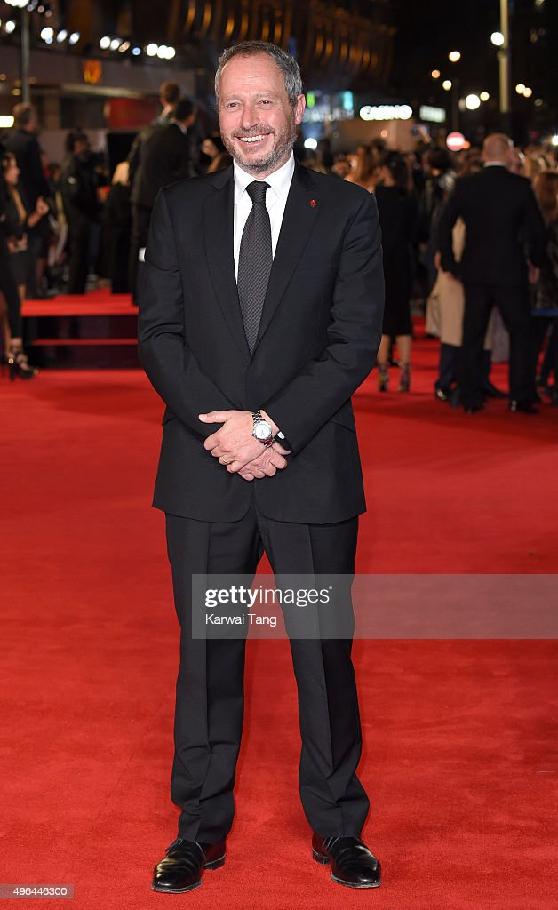 Anthony Wonke attends the World Premiere of 'Ronaldo' at Vue West End on November 9, 2015 in London, England.