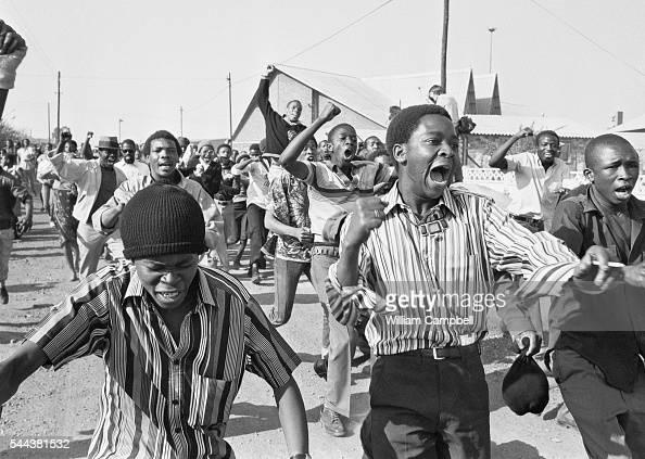 AntiApartheid Demonstrations in Soweto