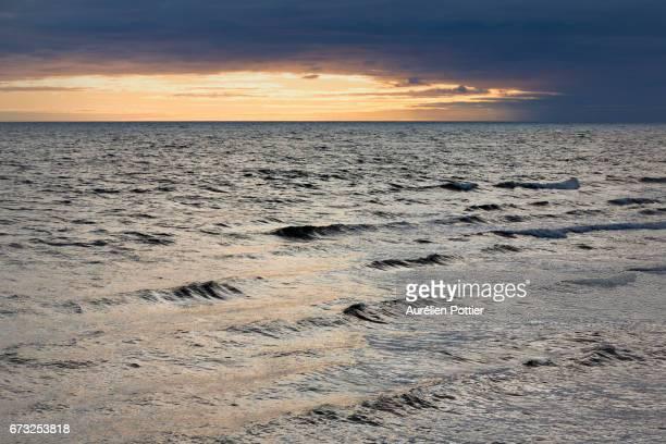 Anticosti, sunrise over the bay McDonald