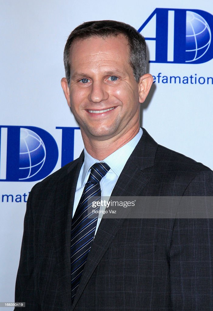 Anti-Defamation League Reagional Board Chair Seth Gerber arrives at the Anti-Defamation League Centennial Entertainment Industry Awards Dinner at The Beverly Hilton Hotel on May 8, 2013 in Beverly Hills, California.