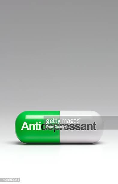 Anti-depressant capsule