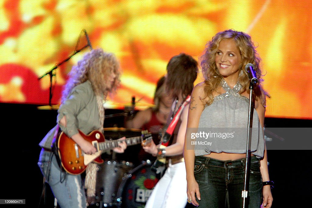 Antigone Rising performs a tribute to the Doors during VH1 Classic Presents 'Decades Rock Live: A Tribute to the Doors' - August 5, 2005 at Trump Taj Mahal in Atlantic City, New Jersey, United States.