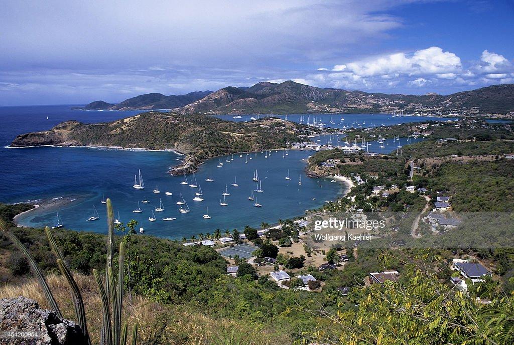 Antigua View Of English Harbor/nelson's Dockyard