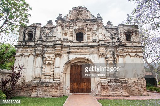 Antigua,Guatemala,monument,architecture,ruines,chapelle. : Stock Photo