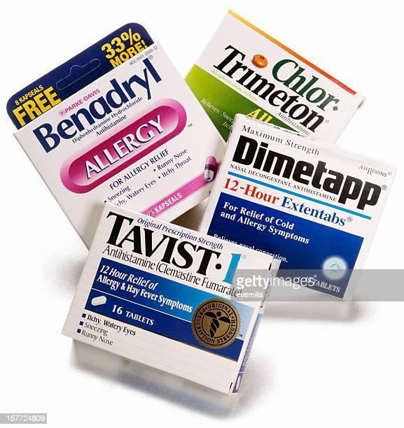Médicament Antiallergique Photos et images de collection