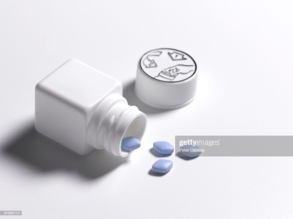anti-impotence tablets : Stock Photo