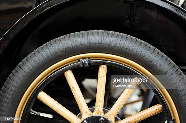 Antique Auto Wheel and Tire.