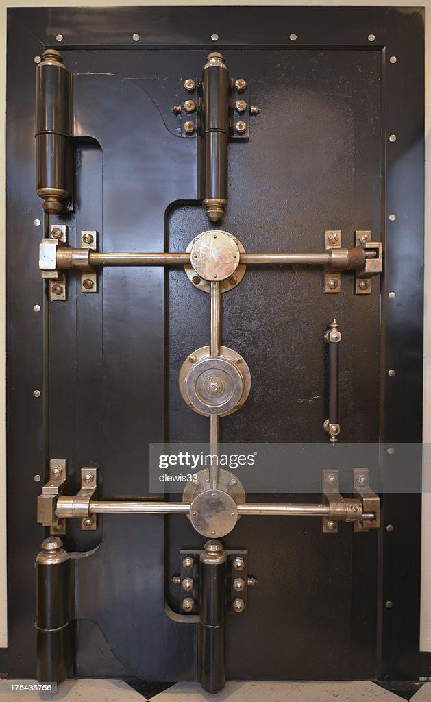 Antique Bank Vault Door : Stock Photo - Antique Bank Vault Door Stock Photo Getty Images