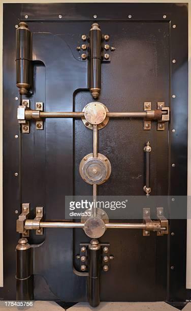 Alte Bank Gewölbe Tür