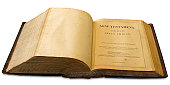 Antique bible from the 19th century.
