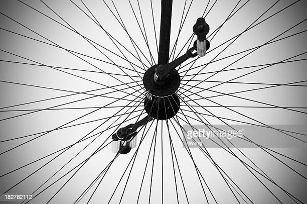 Ancienne roue de vélo