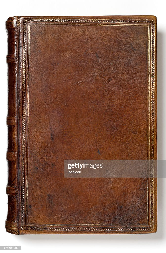 Old Book Cover Blank : Antique blank book stock photo getty images