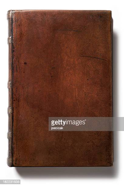 Antique Blank Leather Book