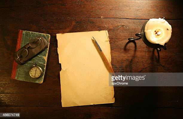 Alte leere Brief