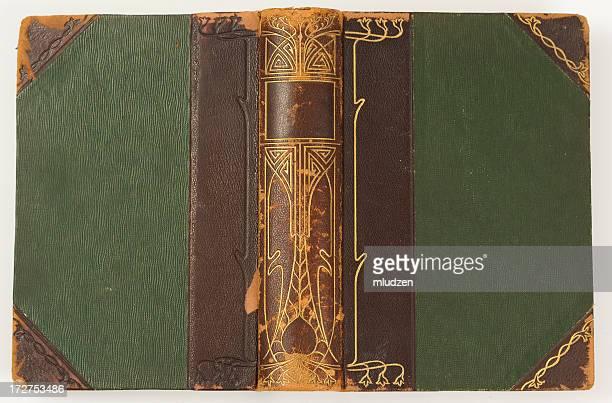 Antique book cover